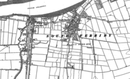 Old Map of South Ferriby, 1886