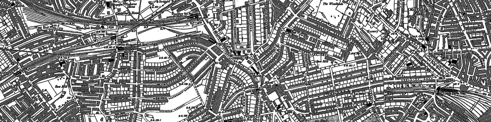 Old map of Swiss Cottage in 1894