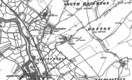 Old Map of South Heighton, 1898 - 1908