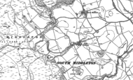 Old Map of South Middleton, 1896 - 1897