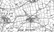 Old Map of South Newington, 1898