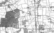 Old Map of South Ockendon, 1895