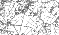 Old Map of South Thoresby, 1887 - 1888