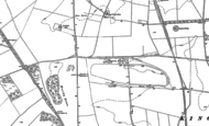 Old Map of South Wonston, 1894 - 1895