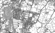 Old Map of South Woodford, 1894 - 1895