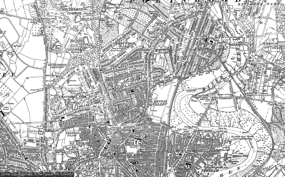 Old Maps of Southampton Francis Frith