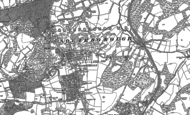 Old Map of Southborough, 1896