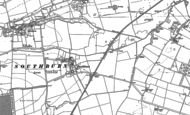 Old Map of Southburn, 1890 - 1891