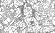 Old Map of Southcott, 1884