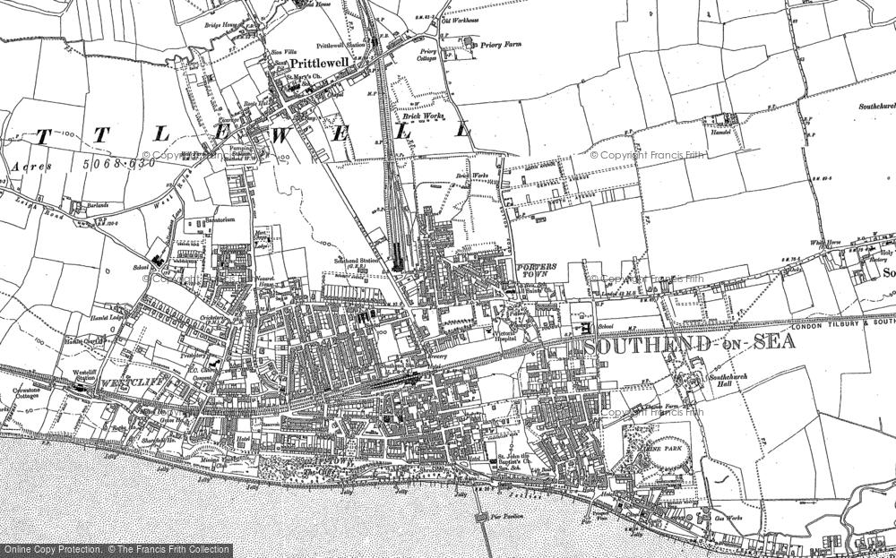 Southend-on-Sea, 1895 - 1896