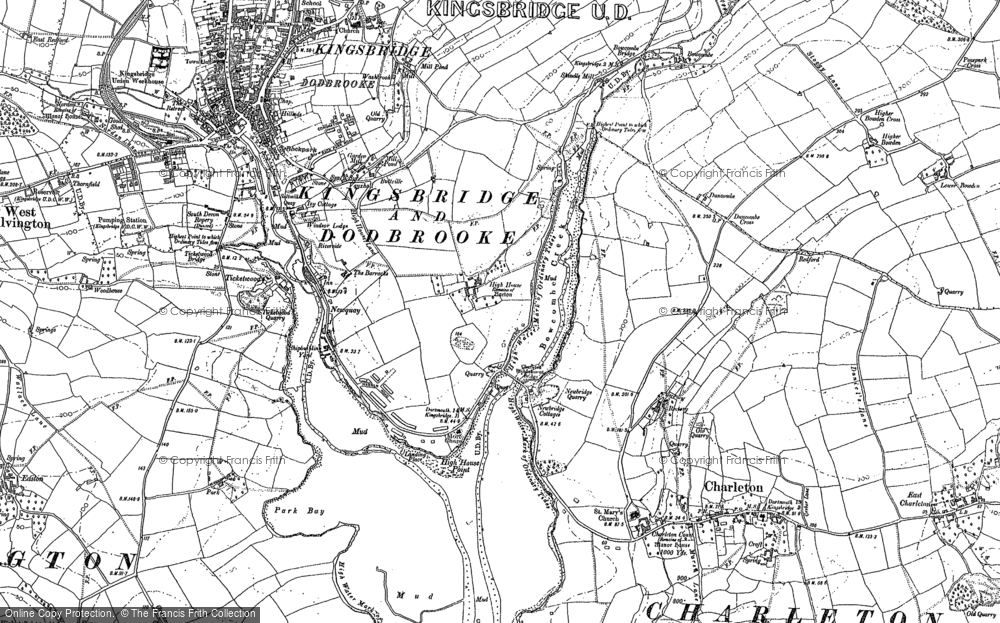 Old Map of Southville, 1904 - 1905 in 1904