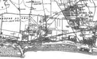 Old Map of Southwick, 1896 - 1909