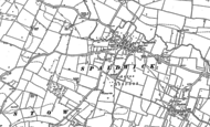 Old Map of Spaldwick, 1887 - 1900
