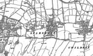 Old Map of Sparsholt, 1898