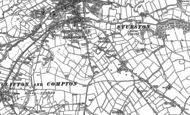 Old Map of Spitalhill, 1880