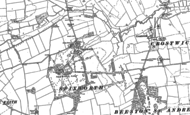 Old Map of Spixworth, 1882