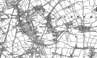 Old Map of Springwell, 1895