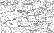 Old Map of Sproston Green, 1897