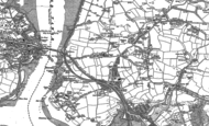 Old Map of St Budeaux, 1912