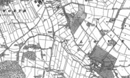 Old Map of St Catherine's Well, 1890 - 1901