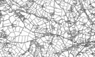 Old Map of St Erth Praze, 1877