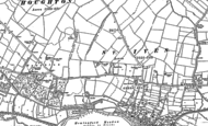 Old Map of St Ives, 1887 - 1901