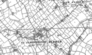 Old Map of St James South Elmham, 1882 - 1903