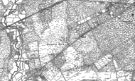 Old Map of St Leonards, 1907 - 1908