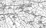 Old Map of St Margaret South Elmham, 1903