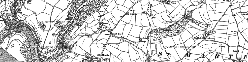 Old map of Windsworth in 1881
