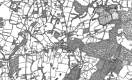 Old Map of St Michaels, 1895 - 1897