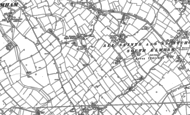Old Map of St Nicholas South Elmham, 1903