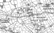 Old Map of St Peter South Elmham, 1903