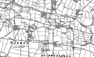 Old Map of St Twynnells, 1948