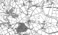 Old Map of St Weonards, 1887 - 1903