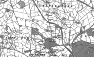 Old Map of St y-Nyll, 1897 - 1898