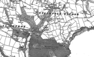 Old Map of Stackpole, 1948