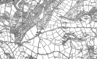 Old Map of Stafford Cross, 1903