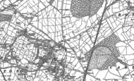 Old Map of Staincross, 1851 - 1891