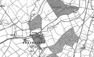 Old Map of Stainfield, 1886
