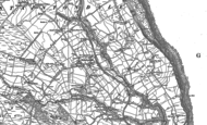 Old Map of Staintondale, 1910