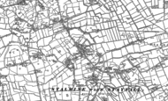 Old Map of Stalmine, 1909 - 1910