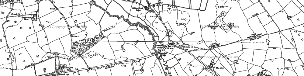 Old map of Limes, The in 1897