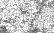 Old Map of Stamford Hill, 1905