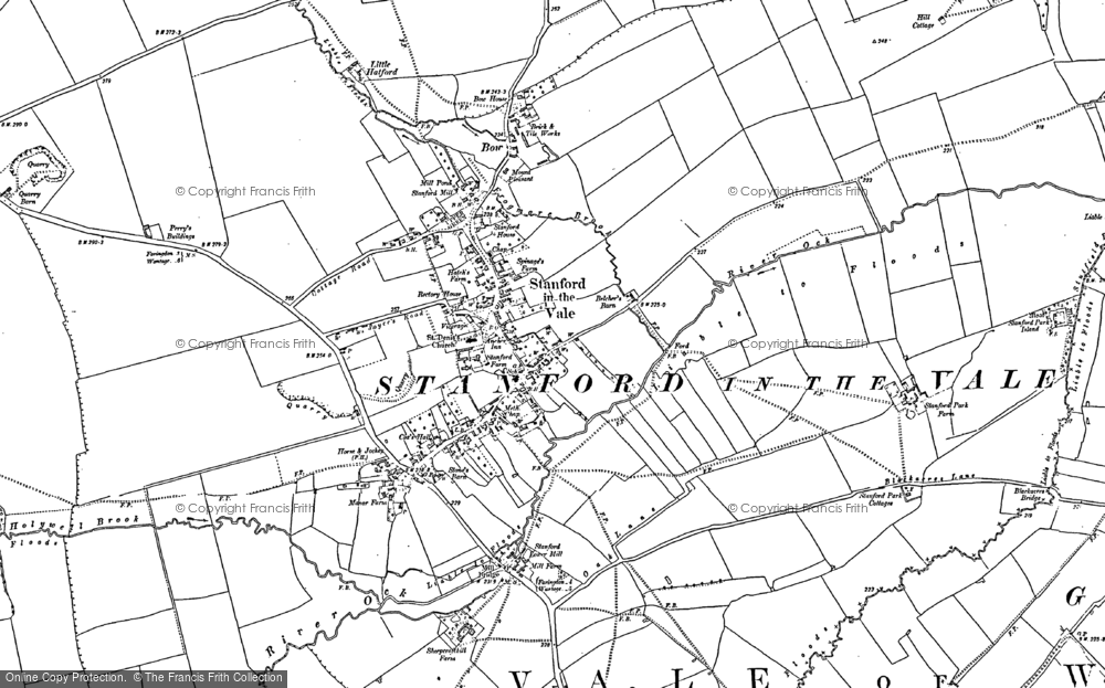 Old Maps of Stanford in the Vale  Francis Frith
