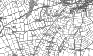 Old Map of Stanfree, 1884 - 1897
