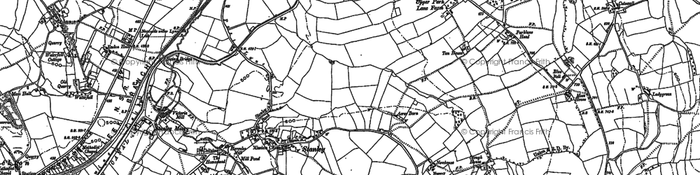 Old map of Tompkin in 1879