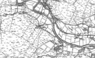 Old Map of Stannersburn, 1895 - 1896