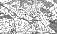 Old Map of Stansbatch, 1885 - 1902