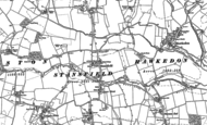Old Map of Stansfield, 1884